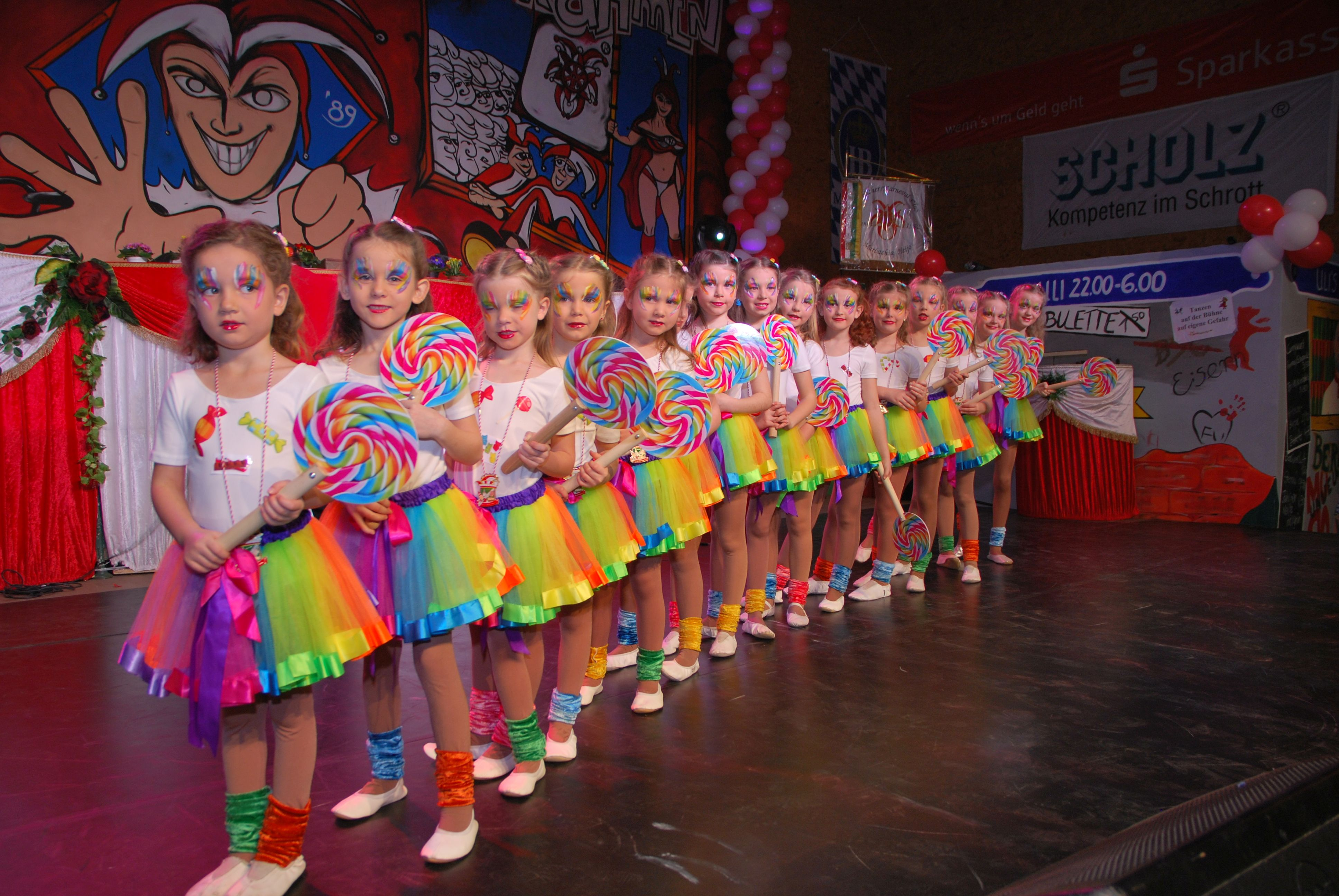 Kleines Showballett